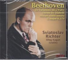 BEETHOVEN, MOZART - DIABELLI VARIATIONS - VIOLIN SONATA CD RICHTER, KAGAN