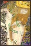 Pannónia Nyomda Zrt. - Gustav Klimt képeslap - Wasserschlangen I./Vízikígyók 1904/1907