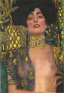 Pannónia Nyomda Zrt. - Gustav Klimt képeslap - Judith I. 1901