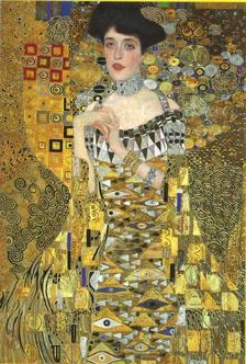 Pannónia Nyomda Zrt. - Gustav Klimt képeslap - Bildnis Adele Bloch-Bauer/Adele Bloch portréja 1907