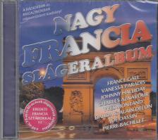 NAGY FRANCIA SLÁGERALBUM CD 60-AS,70-ES,80-AS ÉVEK SLÁGEREI