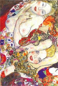 Pannónia Nyomda Zrt. - Gustav Klimt képeslap - Die Braut/a menyasszony 1917/18