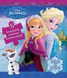 - - Disney - Szivacsos kirakókönyv - Jégvarázs