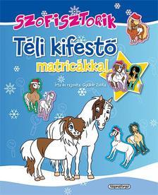 Gyükér Zsófia - Szofisztorik - Téli kifestő matricákkal