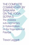 Leggett Trevor - The Complete Commentary by Śankara on the Yoga Sutra-s [eKönyv: epub,  mobi]