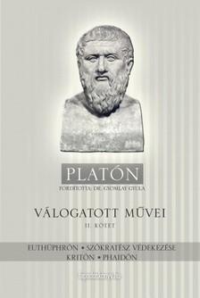 Platón - Platón válogatott művei II. kötet [eKönyv: epub, mobi]