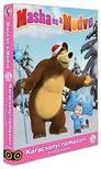 Mása és a Medve 8.-as DVD (6) - Karácsonyi ramazuri + 4 mókás kaland<!--span style='font-size:10px;'>(G)</span-->