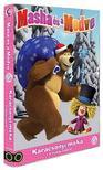 Mása és a Medve 9.-es DVD (0) - Karácsonyi móka + 4 mókás kaland<!--span style='font-size:10px;'>(G)</span-->