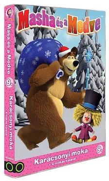 - Mása és a Medve 9.-es DVD (0) - Karácsonyi móka + 4 mókás kaland