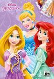 Disney Hercegnők - A5+ színező<!--span style='font-size:10px;'>(G)</span-->