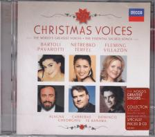 - CHRISTMAS VOICES 2CD PAVAROTTI, NETREBKO, TERFEL, FLEMING, VILLAZÓN, ALAGNA