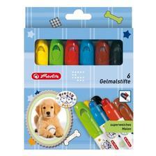 10671816 - Zselés rajzkréta/6 szín Pretty Pets