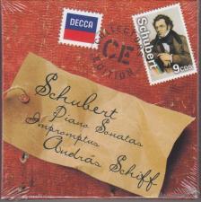 SCHUBERT - PIANO SONAS - IMPROMPTUS 9CD SCHIFF ANDRÁS