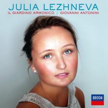 VIVALDI/HANDEL/PORPORA/MOZART - JULIA LEZHNEVA CD