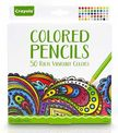 - Crayola Színes ceruza 50 db-os felnőtt színezőhöz