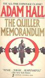 Hall, Adam - The Quiller Memorandum [antikvár]