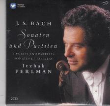 Bach - SONATAS & PARTITAS 2CD PERLMAN