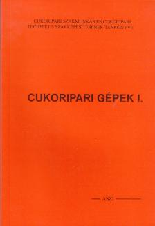 - É-347/I. CUKORIPARI GÉPEK I.
