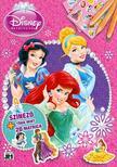 - Disney Hercegnők - A4+ matricás színező