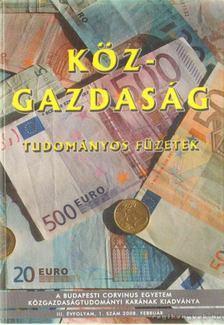 Köz-gazdaság 2008. február [antikvár]
