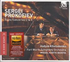 PROKOFIEV - PIANO CONCERTOS 2&5,CD