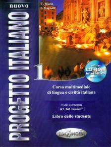 T. Marin, S. Magnelli - PROGETTO ITALIANO 1 LIBRO DELLO STUDENTE + CD-ROM INTERATTIVO