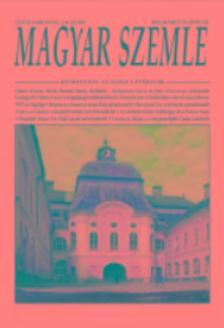 - Magyar Szemle  2018.március-április