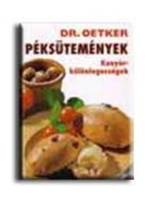 Dr. Oetker - PÉKSÜTEMÉNYEK - KENYÉRKÜLÖNLEGESSÉGEK /KS/