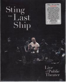 - THE LAST SHIP DVD STING - LIVE AT THE PUBLIC THEATER NEW YORK -