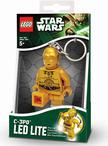 .- - Star Wars világító kulcstartó C3PO