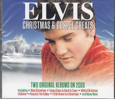 - ELVIS' CHRISTMAS ALBUM / HIS HAND IN MINE (GOSPEL ALBUM) 2CD