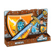 - Középkori lovagi kard és pajzs