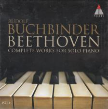 BEETHOVEN - COMPLETE WORKS FOR SOLO PIANO 15CD RUDOLF BUCHBINDER