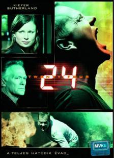 - 24 - DVD - A TELJES HATODIK ÉVAD -