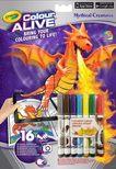 Crayola Color Alive Kastélyok és sárkányok