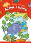 Bárcziné Sowa Halina - magyar szöveg - ÁLLATOK A HÁZNÁL - BŰVÖS KIFESTŐ