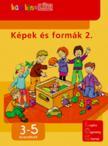 - LDI-109 KÉPEK ÉS FORMÁK 2. 3-5 ÉVESEKNEK /BAMBINO-LÜK/