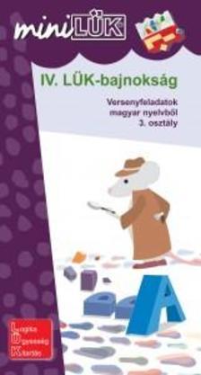 LDI519 - IV. LÜK-bajnokság - versenyfeladatok magyarból 3. osztály