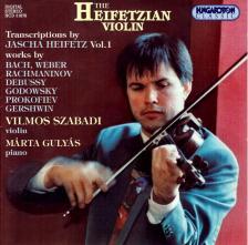 WEBER,RACHMANINOV,DEBUSSY - THE HEIFETZIAN VIOLIN CD31678