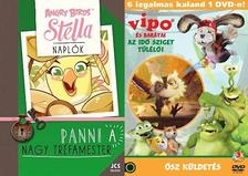 Jojo Gillespie - Angry Birds Sztella Naplók 2. - Panni, a nagy tréfamester + Ajándék VIPO és barátai-Az Idő Sziget túlélői 3.-as DVD - Ősz küldetés