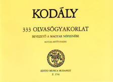 KODÁLY ZOLTÁN - 333 OLVASÓGYAKORLAT