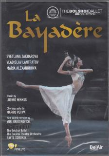 MINKUS - LA BAYADÉRE DVD ZAKHAROVA,LANTRATOV