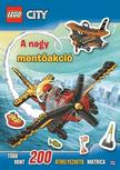 . - Lego City - A nagy mentőakció - matricás foglalkoztató