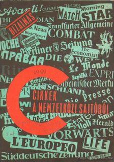 Bizalmas cikkek a nemzetközi sajtóból 1969 nov. 25 [antikvár]