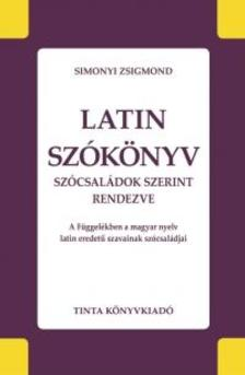 Simonyi Zsigmond - Latin szókönyv