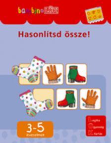 - LDI-103 HASONLÍTSD ÖSSZE! 3-5 ÉVESEKNEK