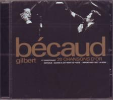 - 20 CHANSONS D'OR CD GILBERT BÉCAUD