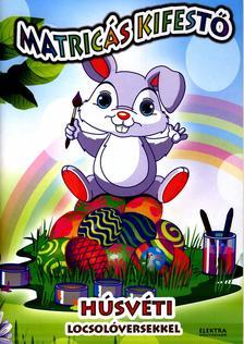 - Matricás kifestő húsvéti locsolóversekkel