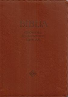 - Biblia - közepes, barna