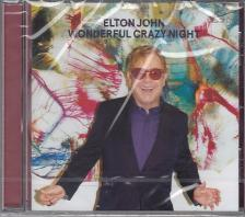 - WANDERFUL CRAZY NIGHT CD ELTON JOHN